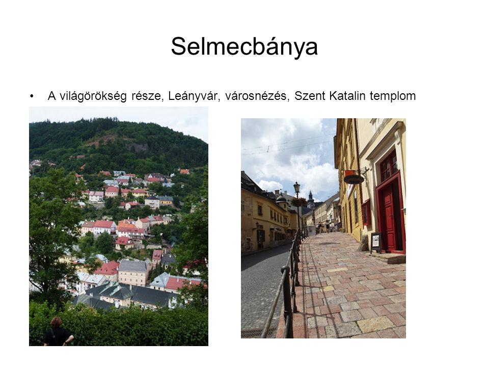 Selmecbánya A világörökség része, Leányvár, városnézés, Szent Katalin templom