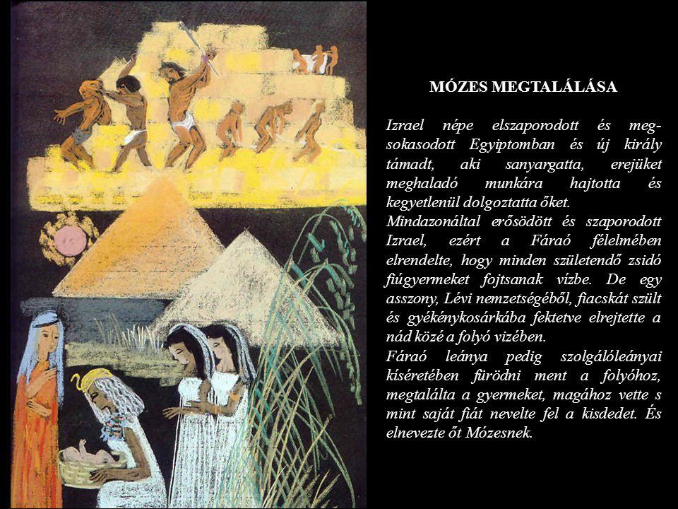 MÓZES MEGTALÁLÁSA