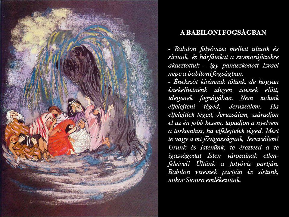 A BABILONI FOGSÁGBAN