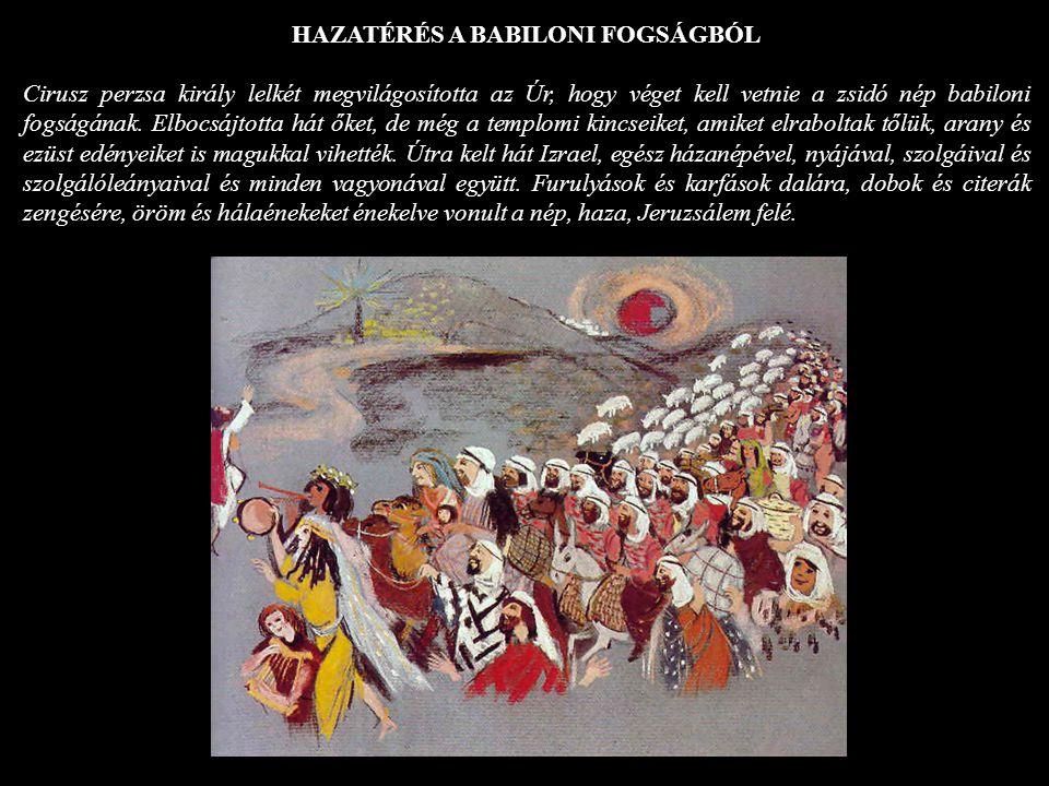 HAZATÉRÉS A BABILONI FOGSÁGBÓL