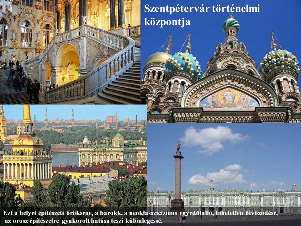 Szentpétervár történelmi központja