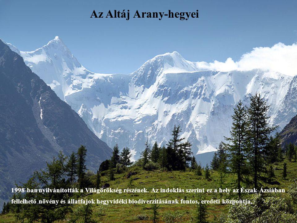 Az Altáj Arany-hegyei