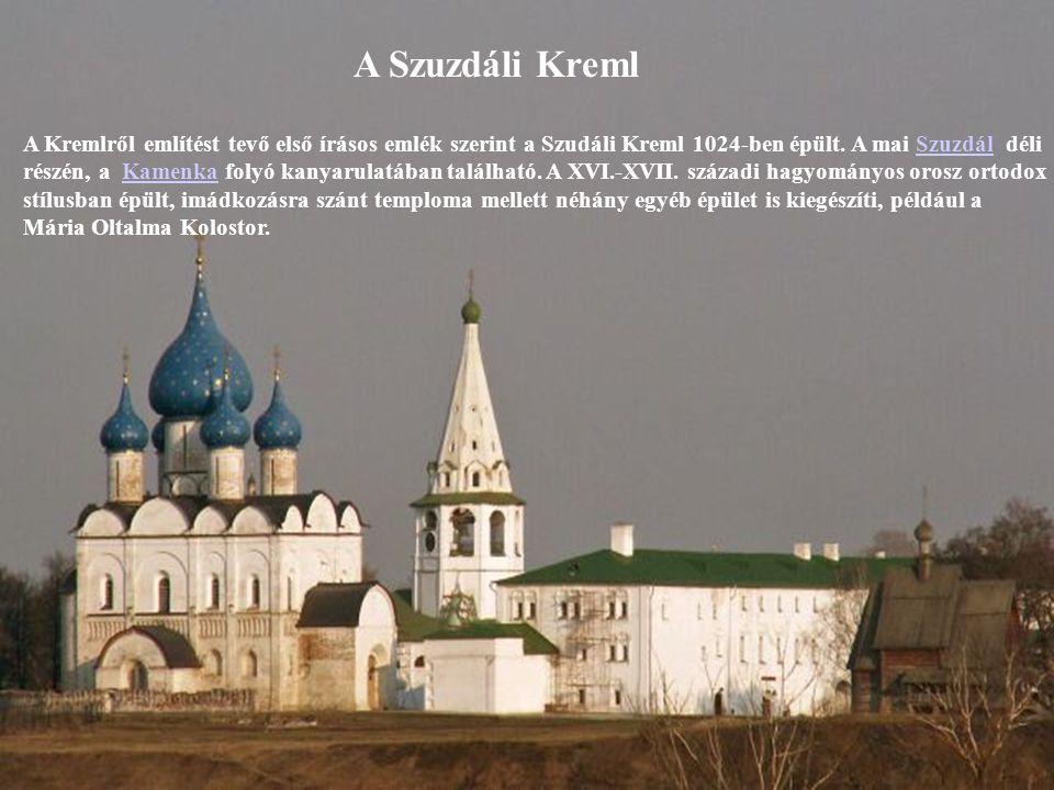 A Szuzdáli Kreml