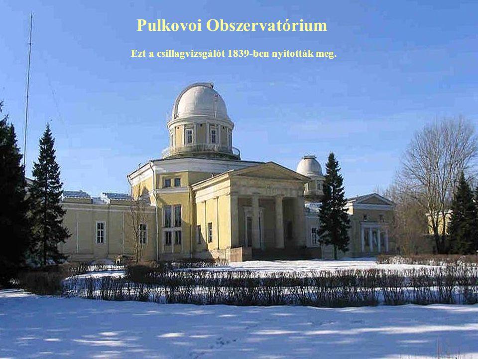 Pulkovoi Obszervatórium