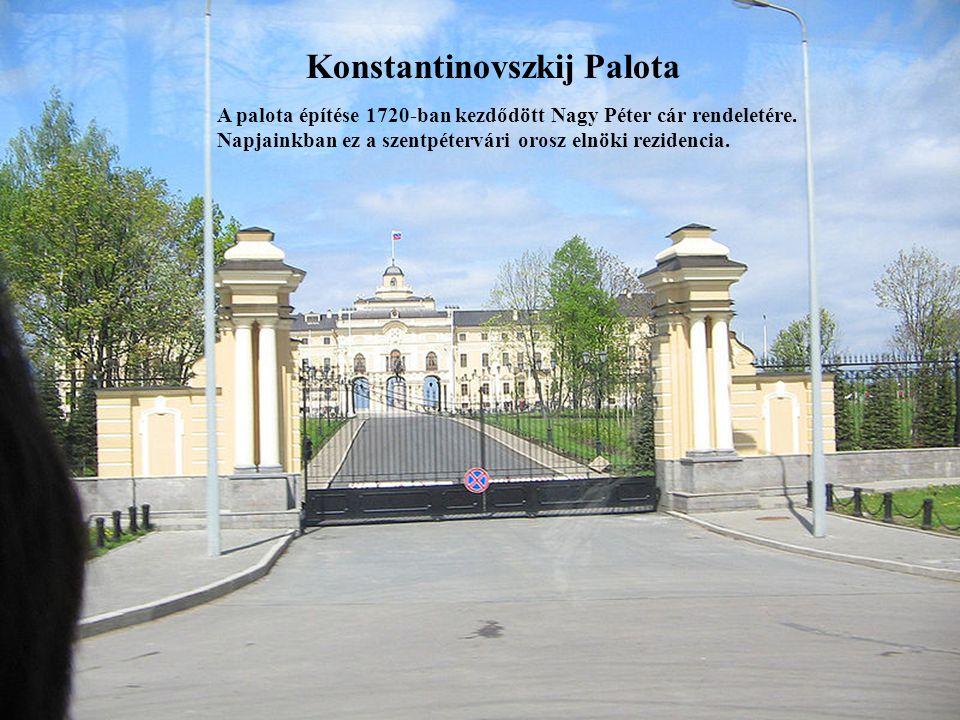 Konstantinovszkij Palota