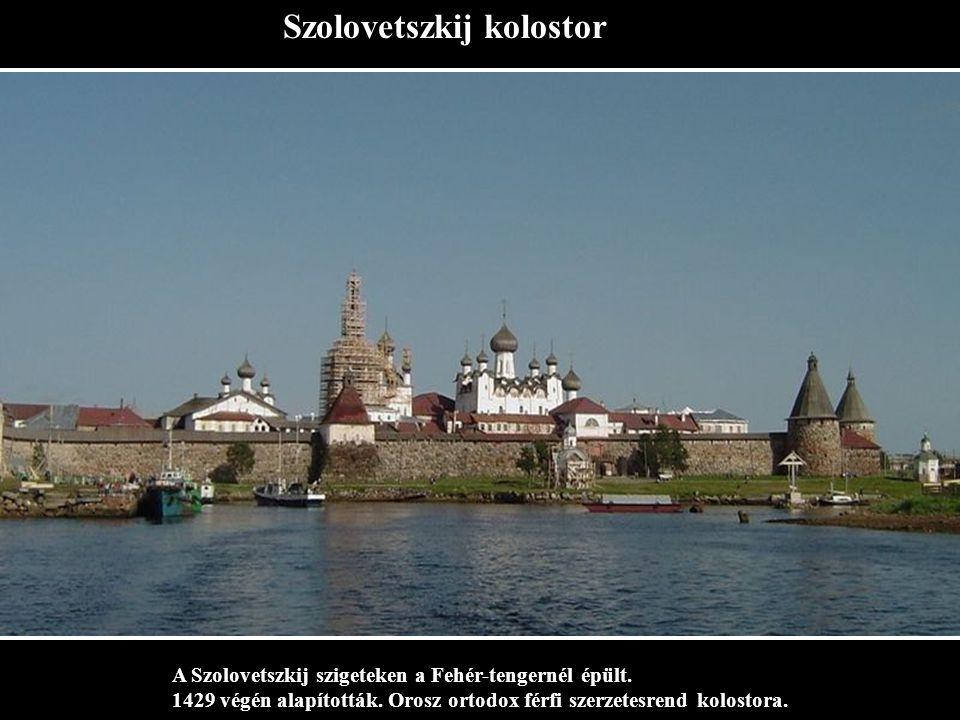 Szolovetszkij kolostor