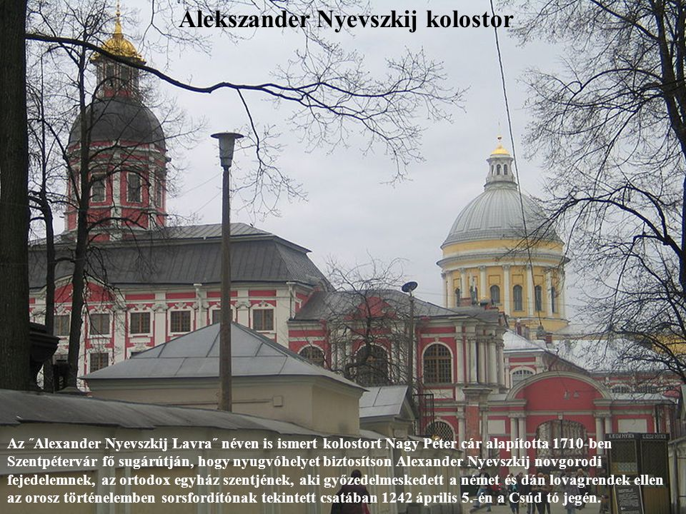 Alekszander Nyevszkij kolostor