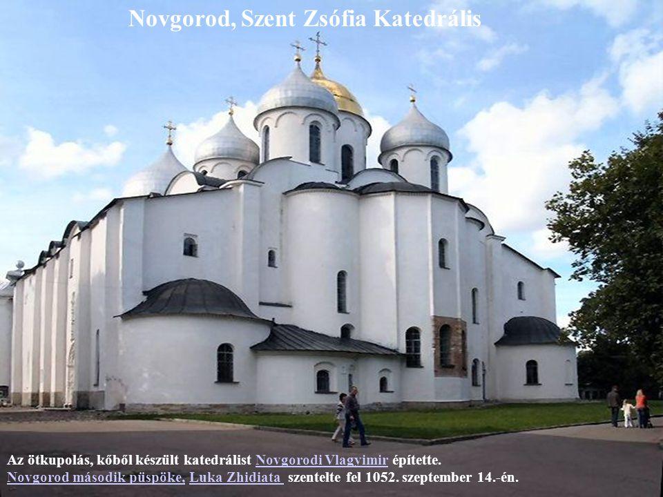 Novgorod, Szent Zsófia Katedrális