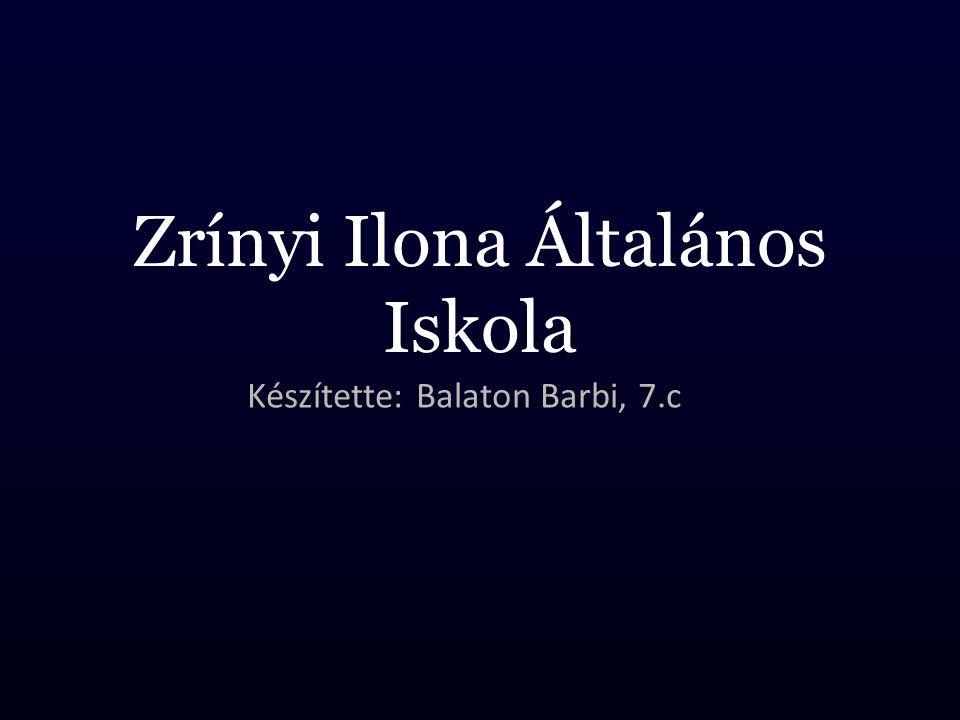 Zrínyi Ilona Általános Iskola