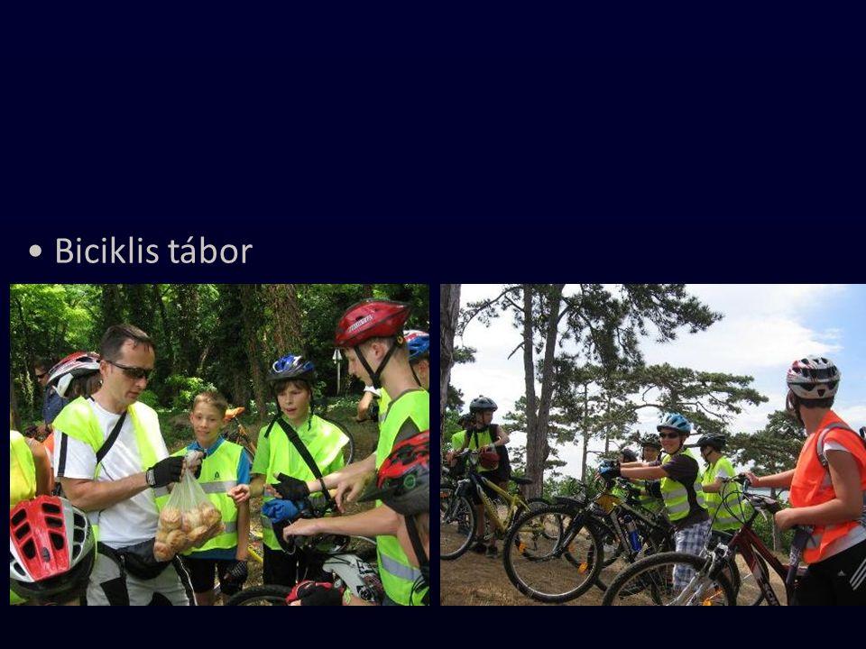 Biciklis tábor