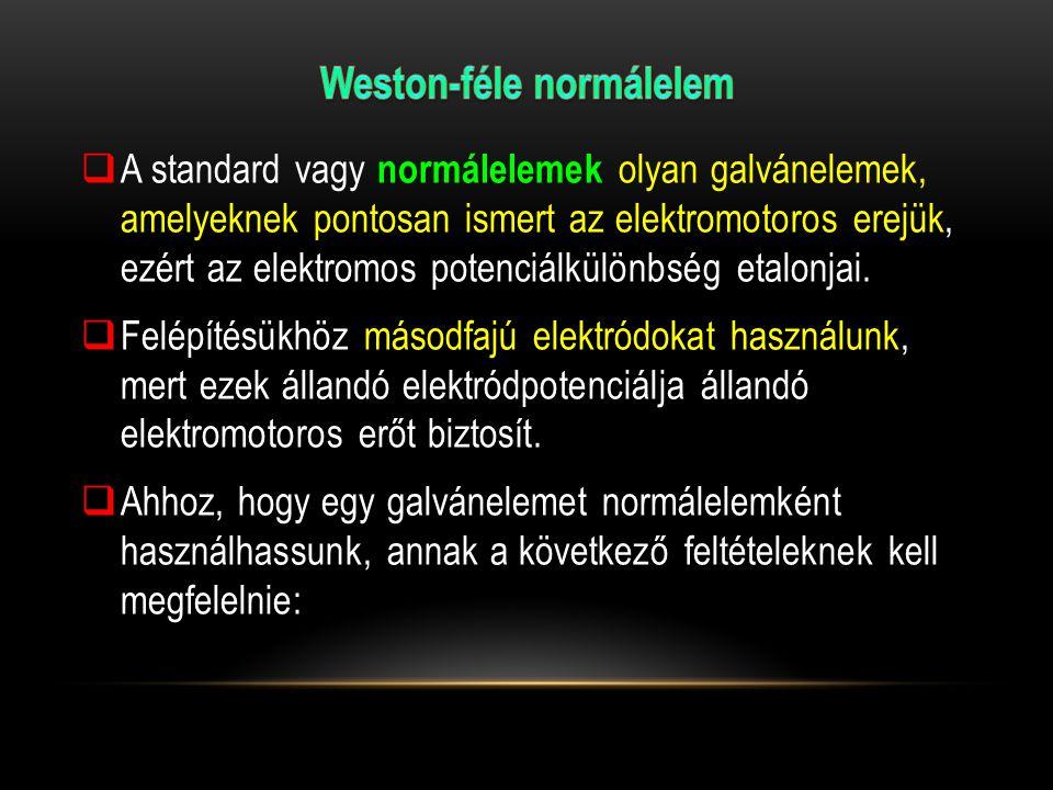 Weston-féle normálelem