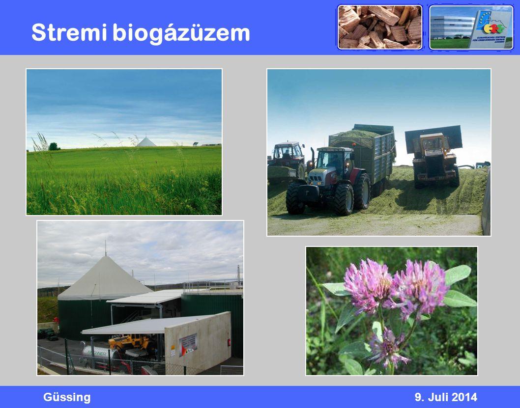 Stremi biogázüzem