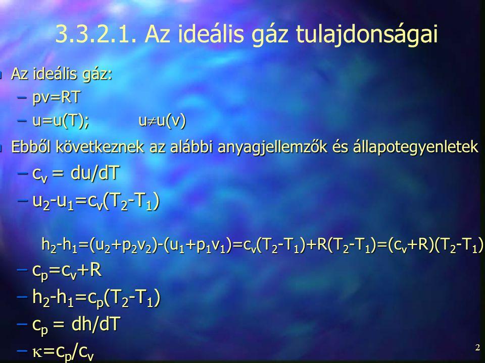 3.3.2.1. Az ideális gáz tulajdonságai