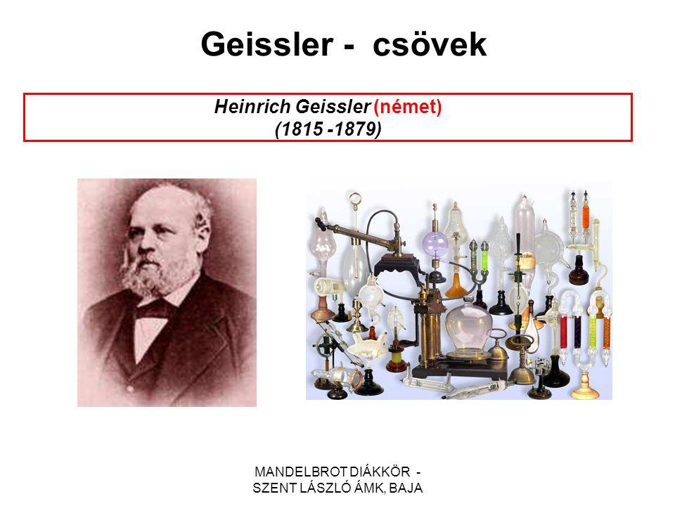Heinrich Geissler (német) (1815 -1879)
