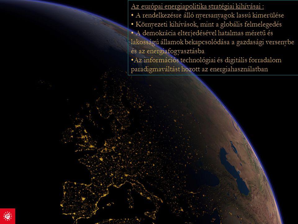 Az európai energiapolitika stratégiai kihívásai :