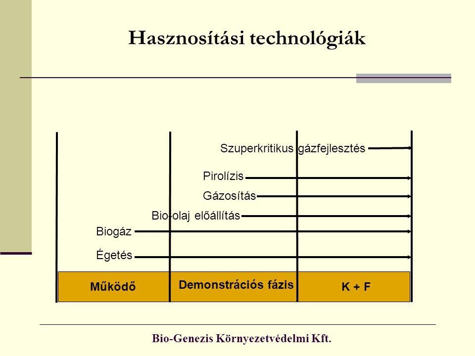 Hasznosítási technológiák