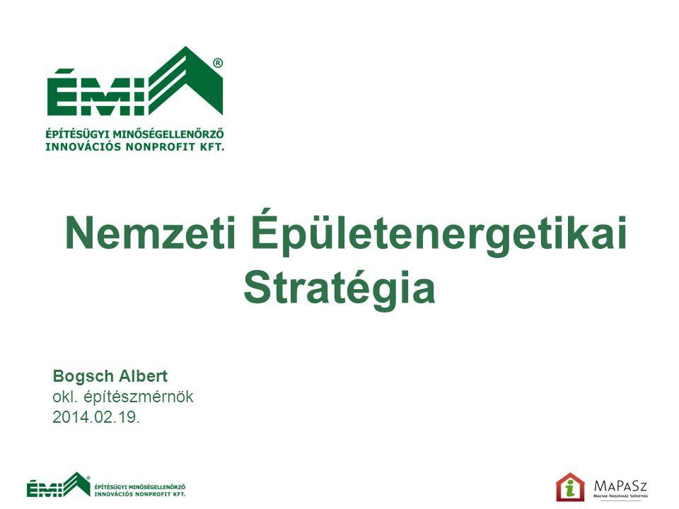 Nemzeti Épületenergetikai Stratégia
