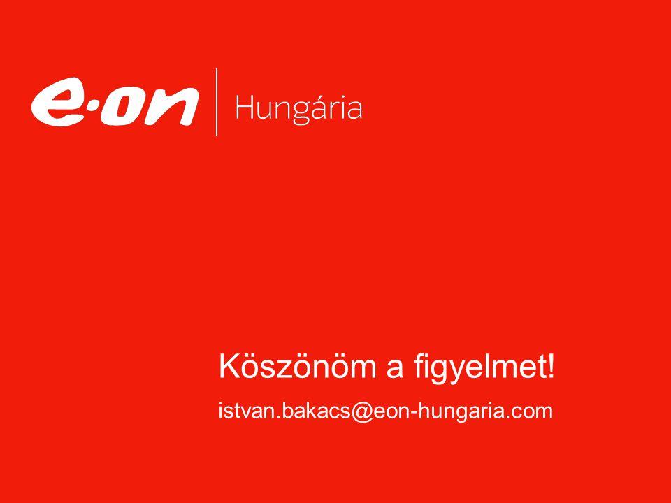 Köszönöm a figyelmet! istvan.bakacs@eon-hungaria.com