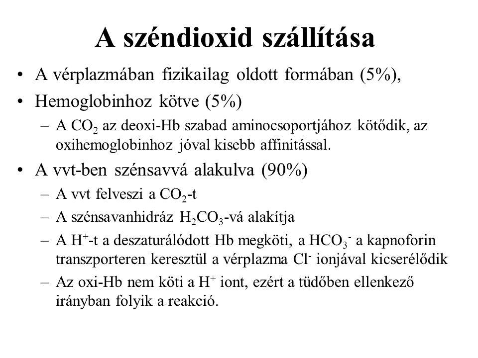 A széndioxid szállítása