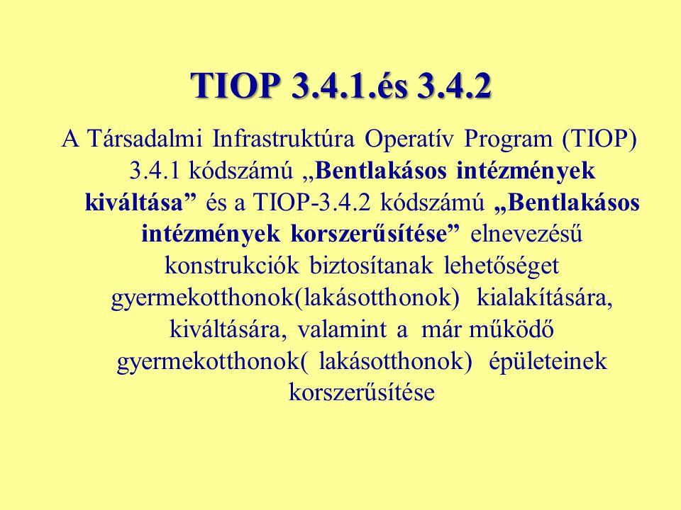 TIOP 3.4.1.és 3.4.2
