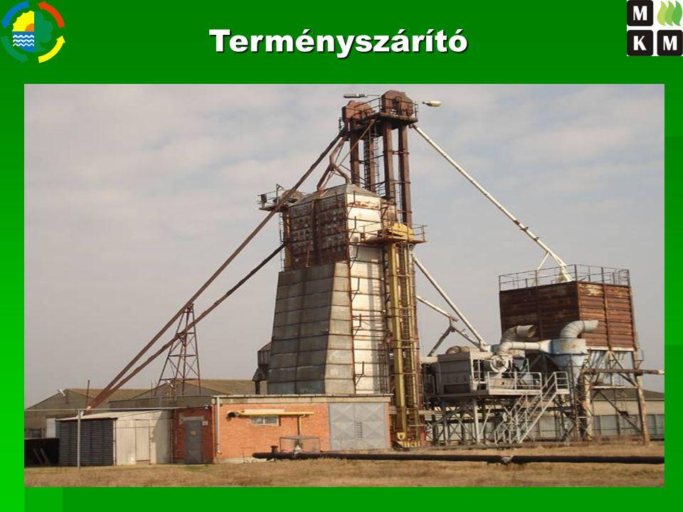 Terményszárító Szárítási költség csökkentése biomassza tüzeléssel