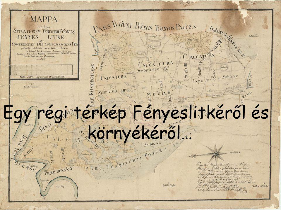 …és egy térkép napjainkból.