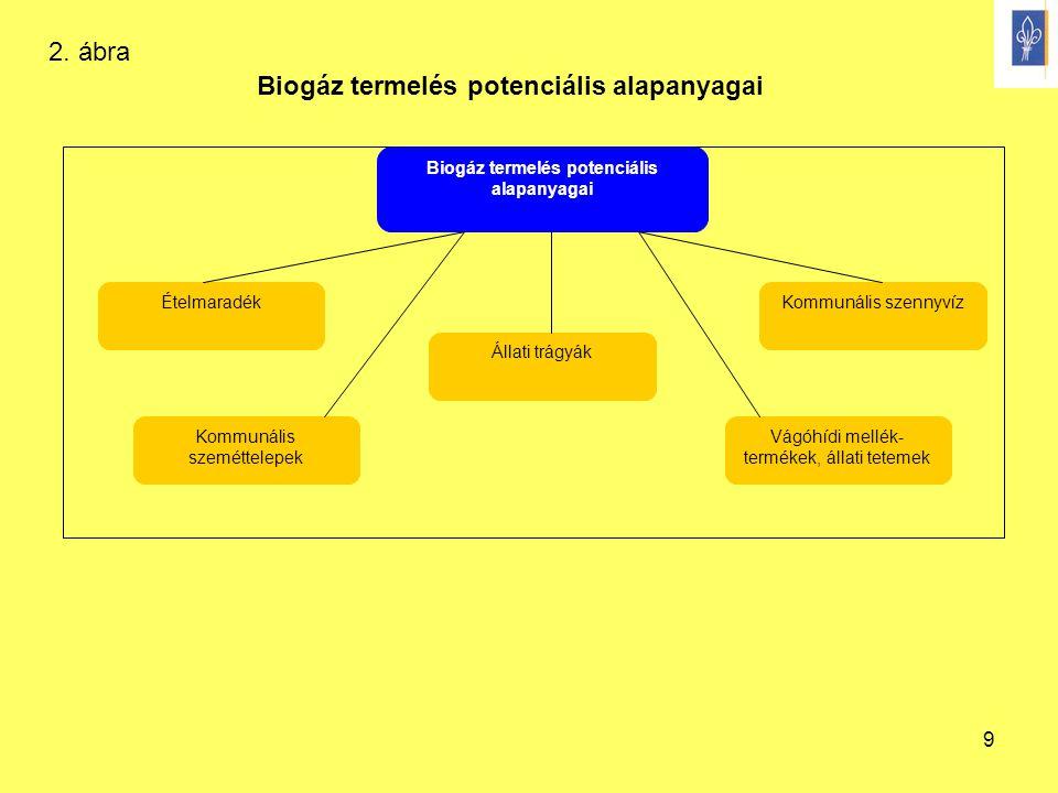 Biogáz termelés potenciális alapanyagai