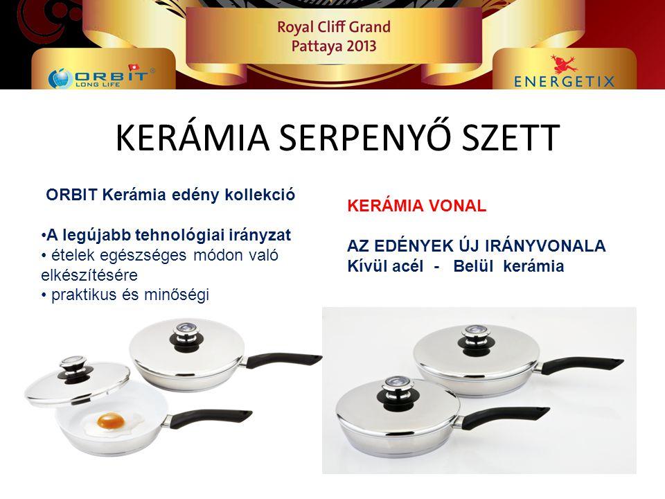 KERÁMIA SERPENYŐ SZETT