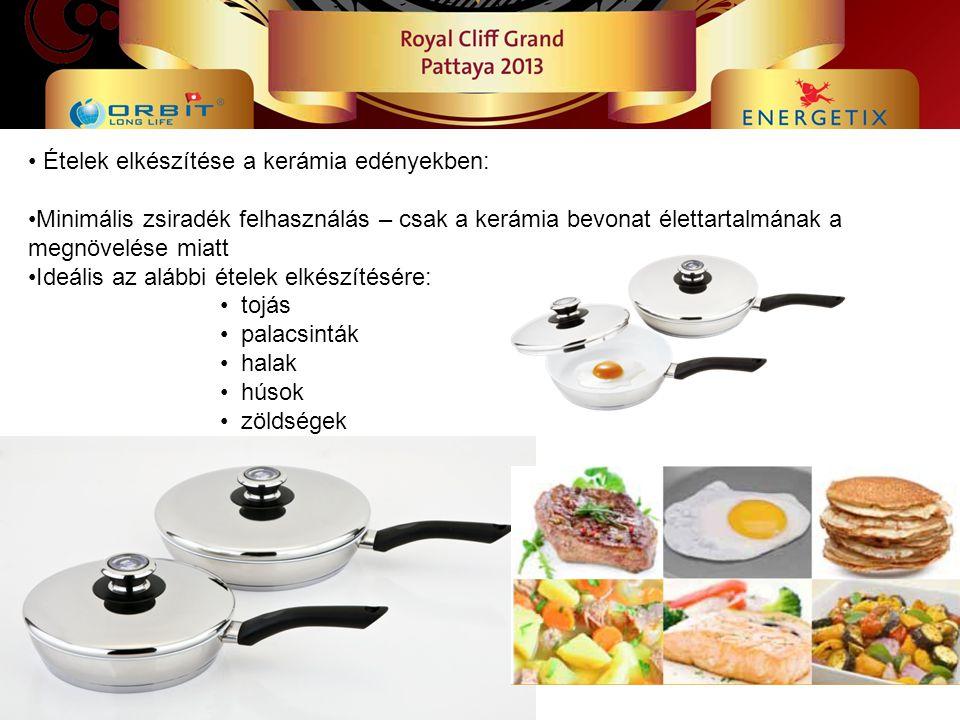 Ételek elkészítése a kerámia edényekben: