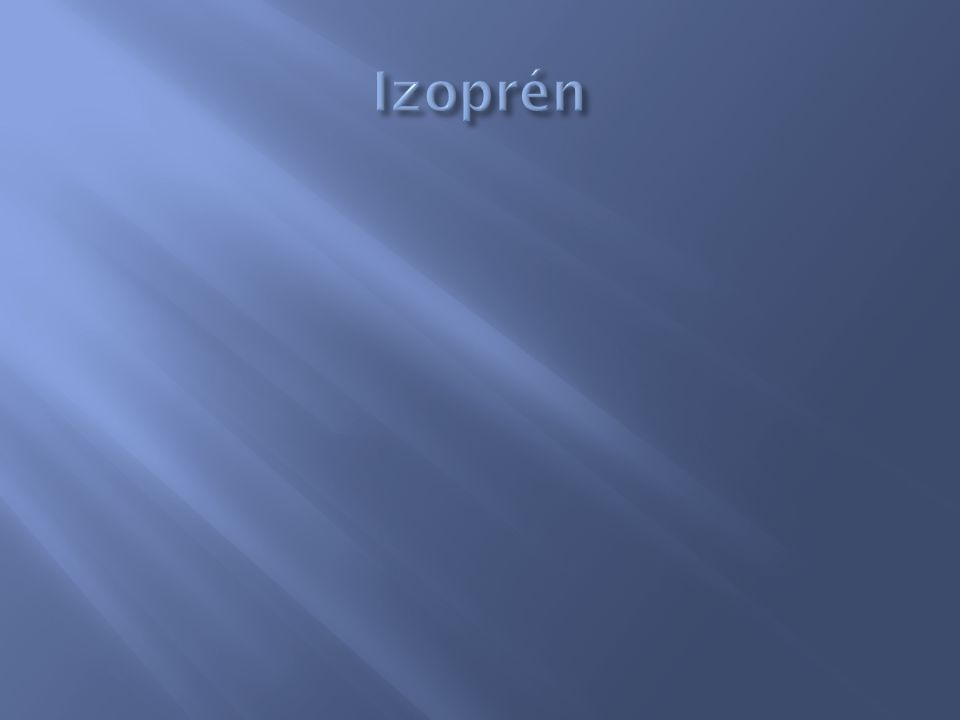 Izoprén
