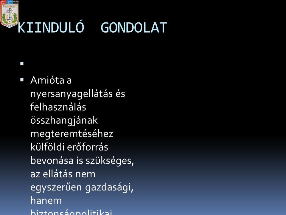 KIINDULÓ GONDOLAT