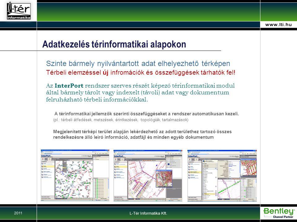 Adatkezelés térinformatikai alapokon