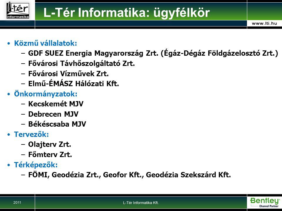 L-Tér Informatika: ügyfélkör