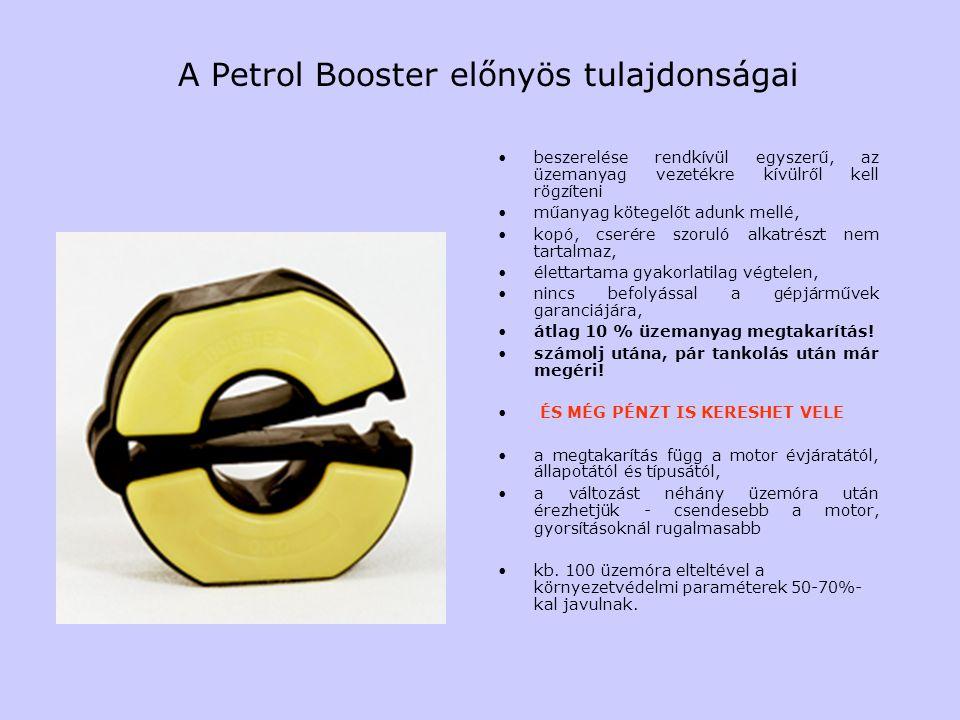 A Petrol Booster előnyös tulajdonságai