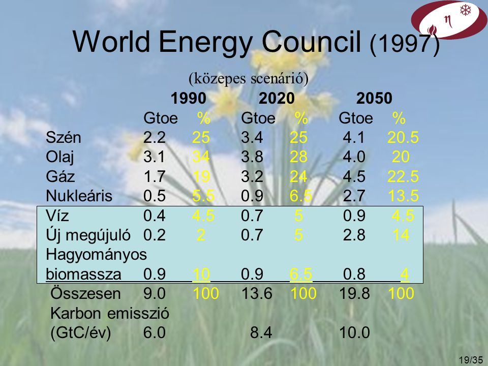 World Energy Council (1997)