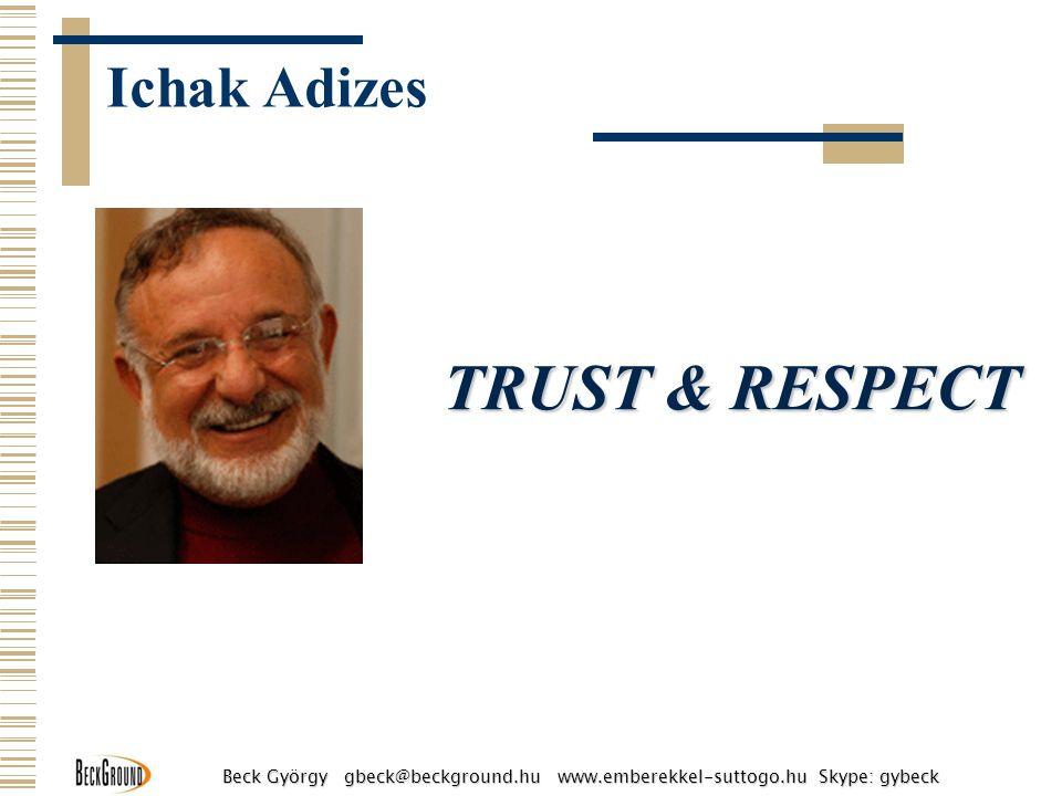 Ichak Adizes TRUST & RESPECT