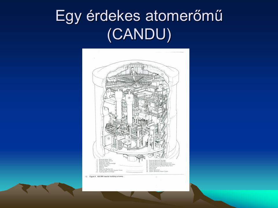Egy érdekes atomerőmű (CANDU)