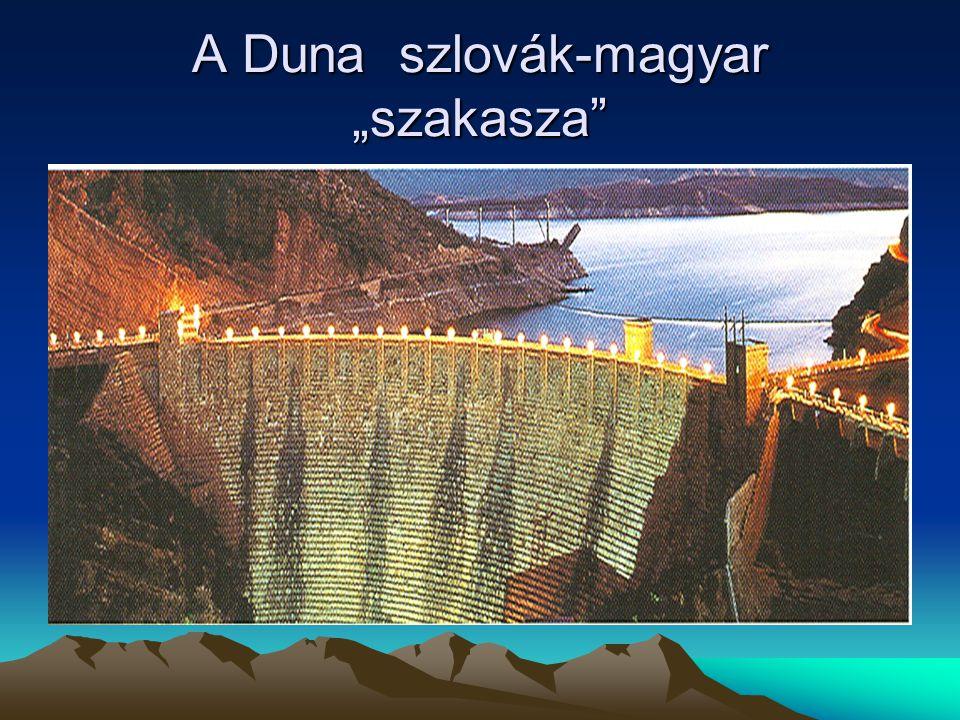 """A Duna szlovák-magyar """"szakasza"""