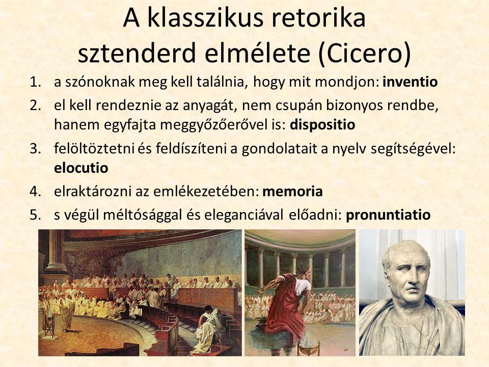 A klasszikus retorika sztenderd elmélete (Cicero)