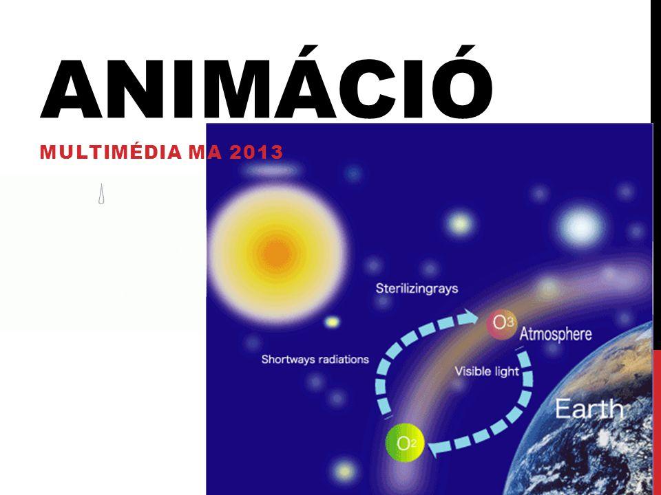 Animáció Multimédia MA 2013