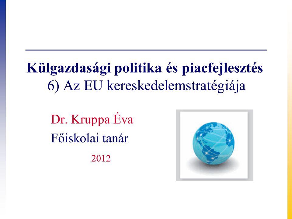 Dr. Kruppa Éva Főiskolai tanár