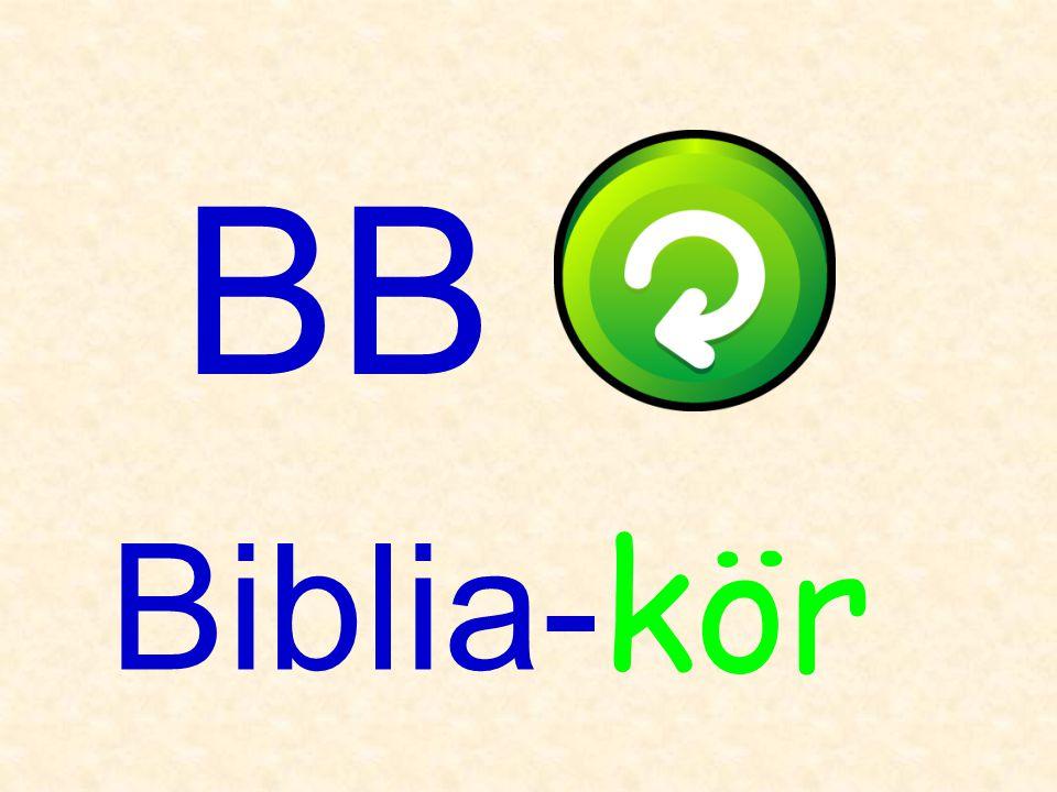 BB Biblia-kör