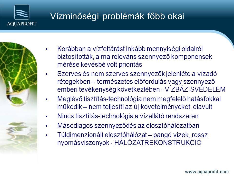 Vízminőségi problémák főbb okai