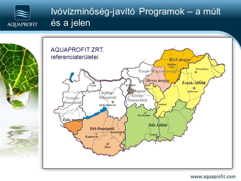 Ivóvízminőség-javító Programok – a múlt és a jelen