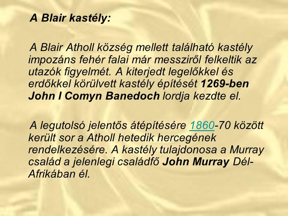 A Blair kastély: