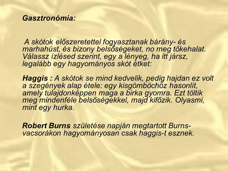 Gasztronómia: