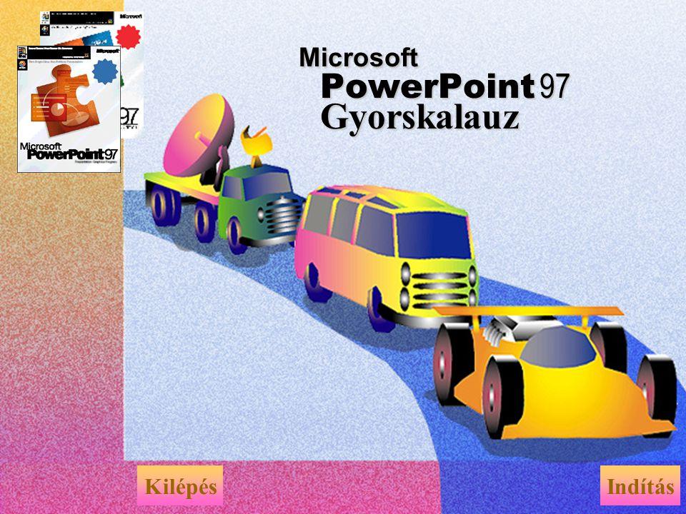 Microsoft PowerPoint 97 Gyorskalauz