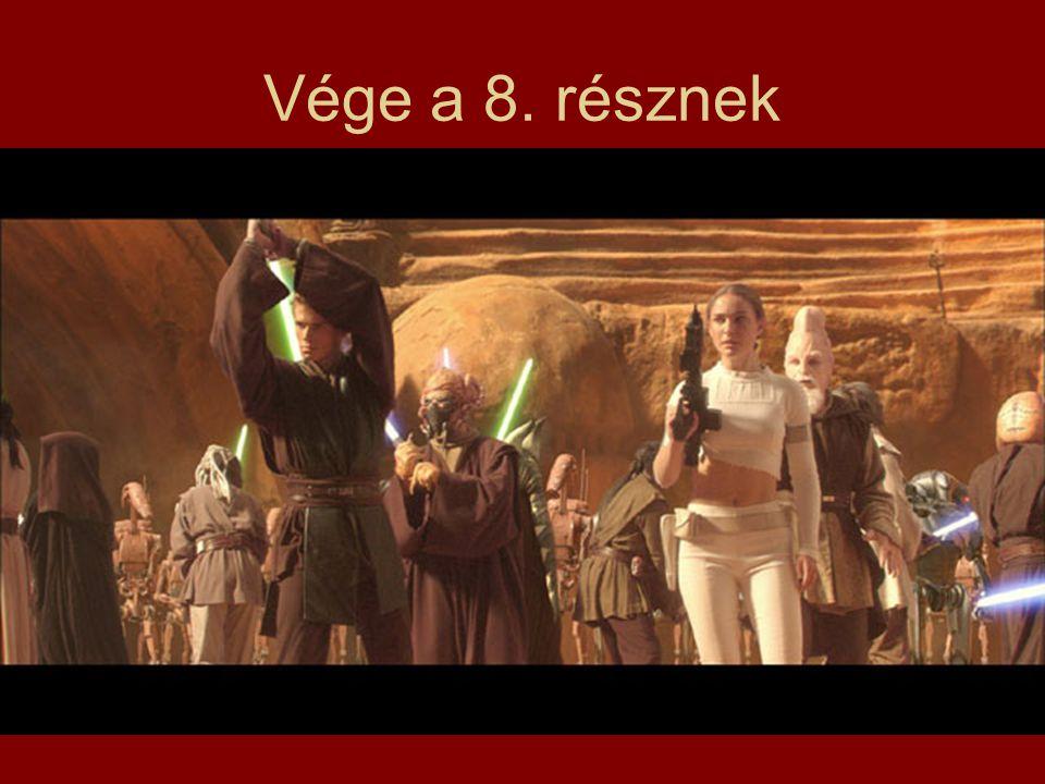 Vége a 8. résznek