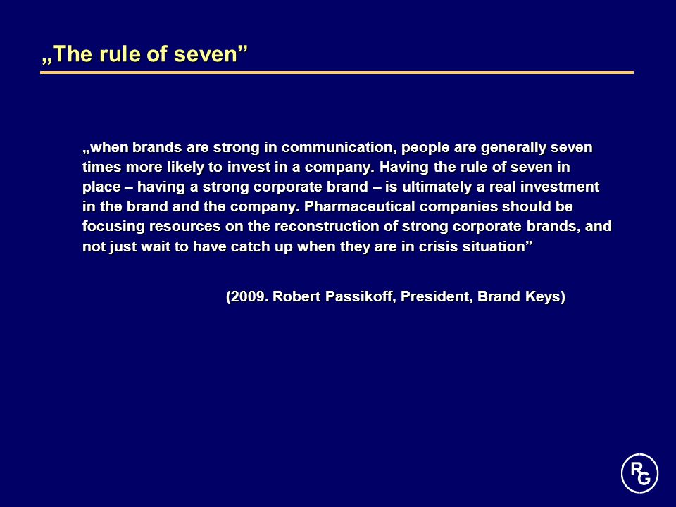 """The rule of seven"