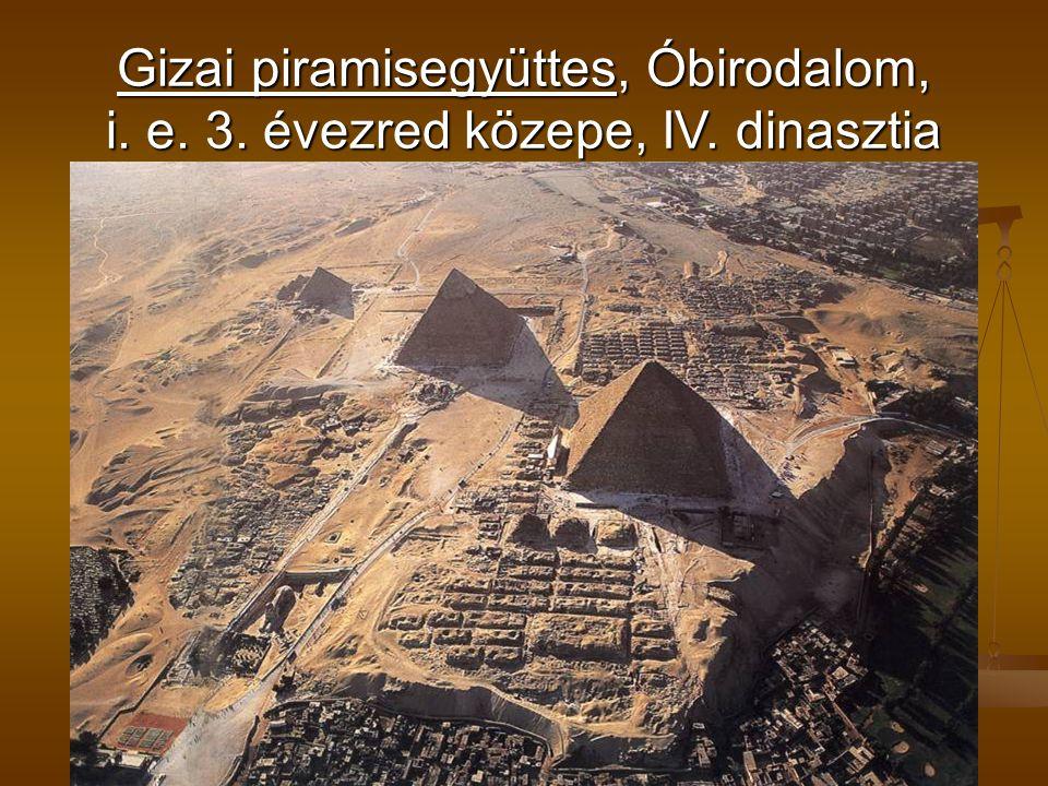 Gizai piramisegyüttes, Óbirodalom, i. e. 3. évezred közepe, IV